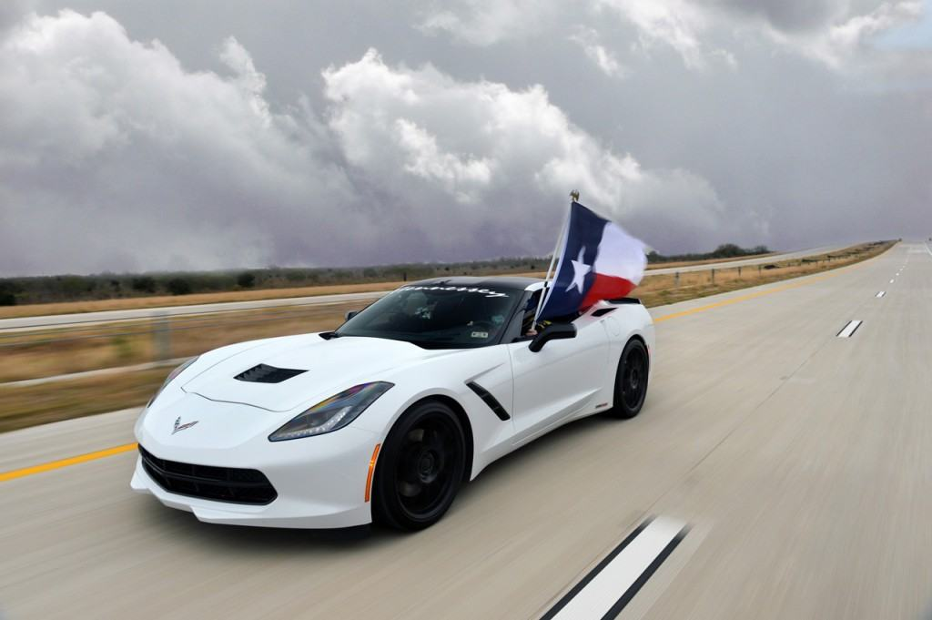 "The run was also a test of the new toll road - which Hennessey founder John Hennessey called ""perfectly smooth"" - and the RFID toll system, which was still able to tag the Corvette at 200 miles per hour (toll dodgers beware)"