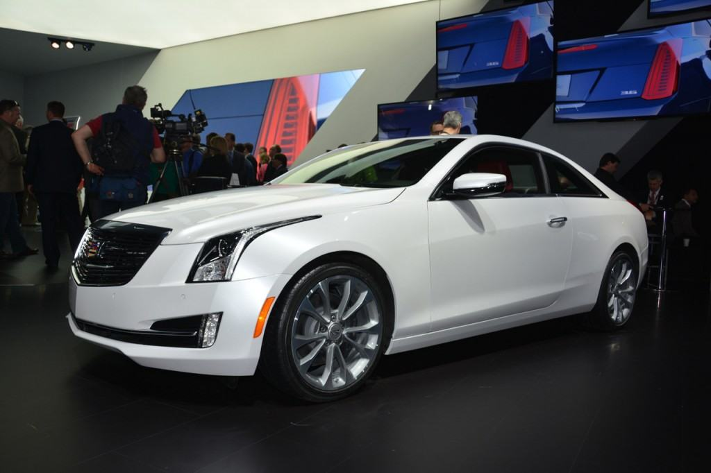 The world reveal of the new Cadillac ATS Coupe (Jan 14).