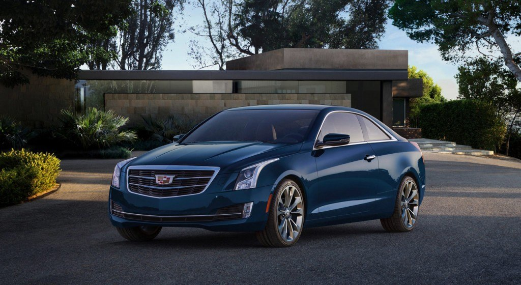 The 2015 Cadillac ATS Coupe will be one of the first to wear the new crest!