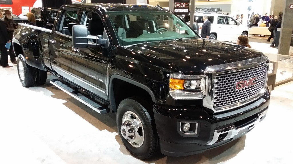 The new Chevrolet Silverado H.D. promises more refinement with available Cruise Control, Auto Grade Braking, and Diesel Exhaust Brake.