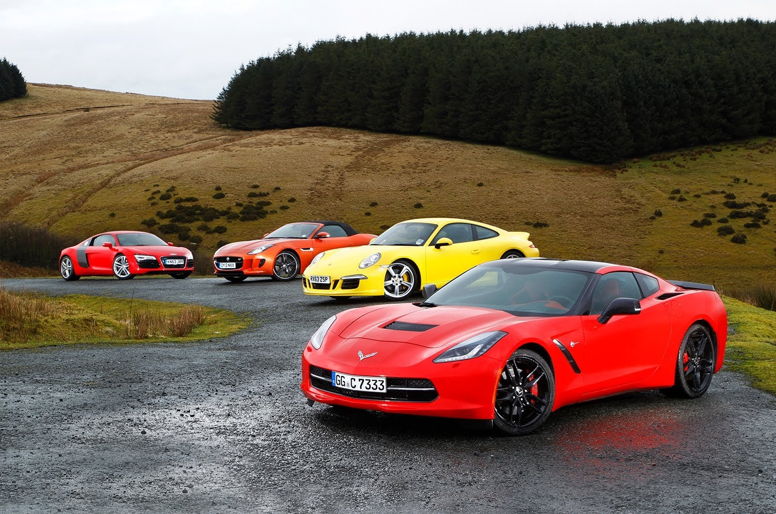 Watch the Corvette go toe-to-toe against its European rivals!