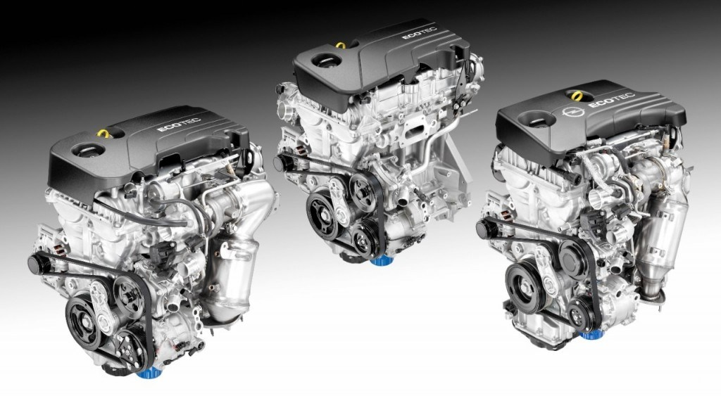 General Motors will offer the new Ecotec engines in 11 different models globally, mostly in small vehicles and mid-sizers