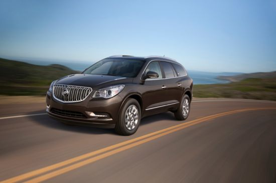 The Buick Enclave posted an extremely impressive month, with a 32 per cent sales leap