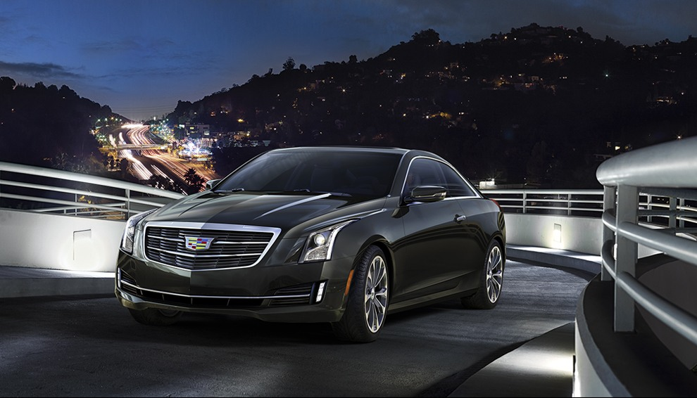 Standard LED headlight 'blades' mean the ATS coupe is always noticed in a crowd.