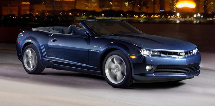 The 2014 Camaro will ride into showrooms with sharp new looks.