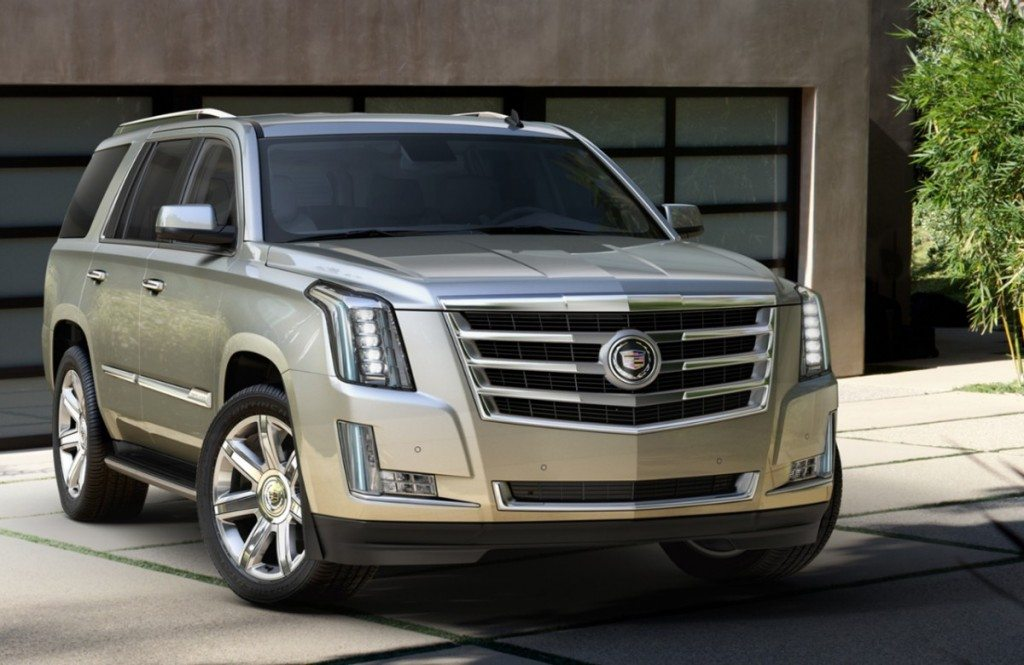 The all-new 2015 Escalade Premium.