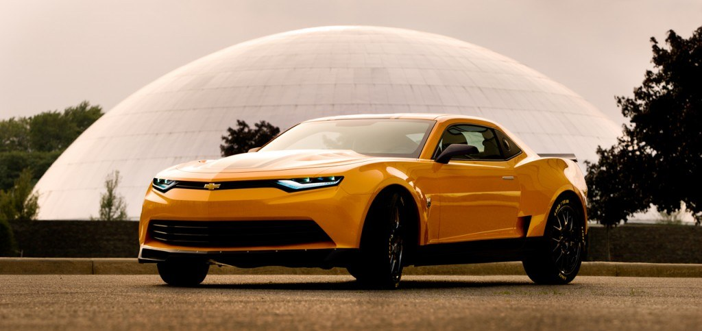 The new '2014 Camaro Concept' will star in 'Transformers: Age of Extinction', the fourth instalment in the series.