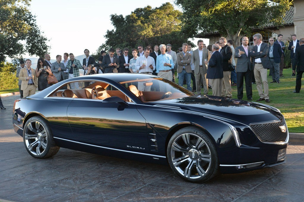 Cadillac revealed the Elmiraj concept (above) in early 2014. The 2015 Cadillac CT6 could look similar.