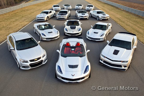 GM's performance vehicle lineup.