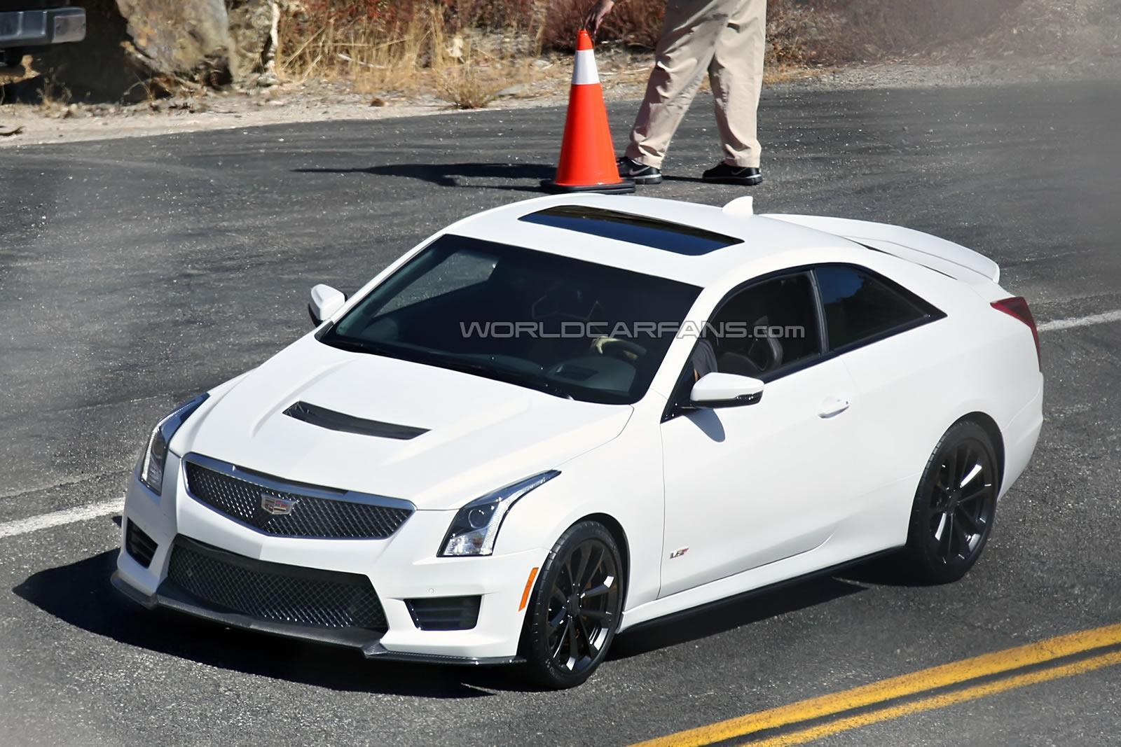 Cadillac ATS-V spotted without camouflage!? - Wallace Chevrolet