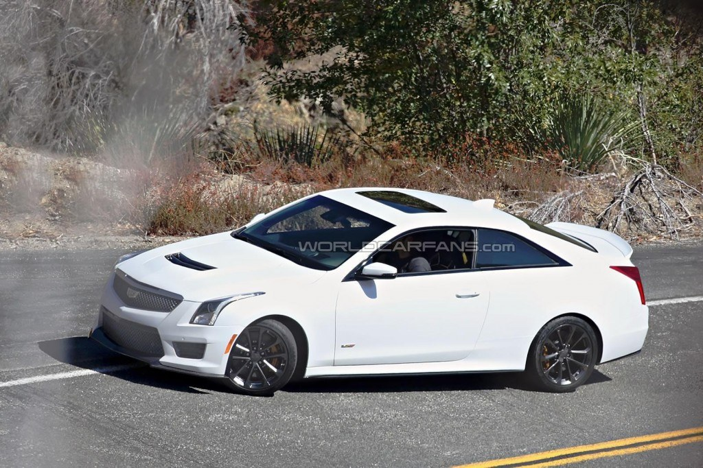 The Cadillac ATS-V will take on competitors like the BMW M4 and Mercedes-Benz C63 AMG.