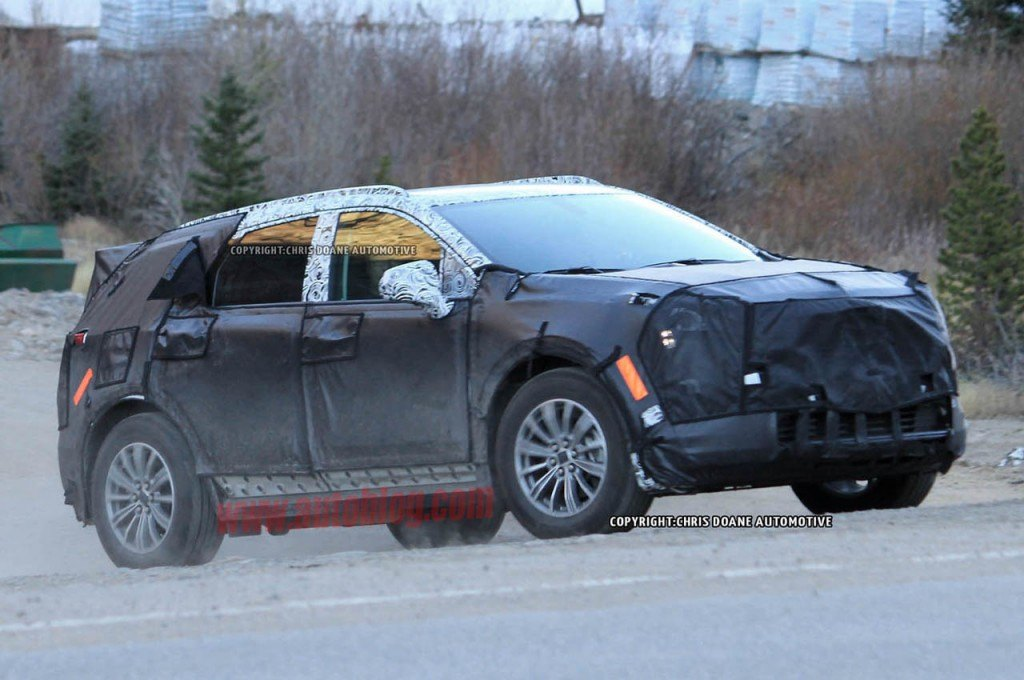 Will this SUV replace the Cadillac SRX?