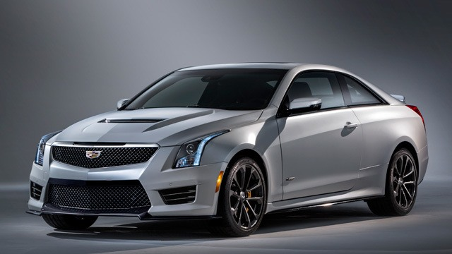 The 2016 Cadillac ATS-V Coupe.