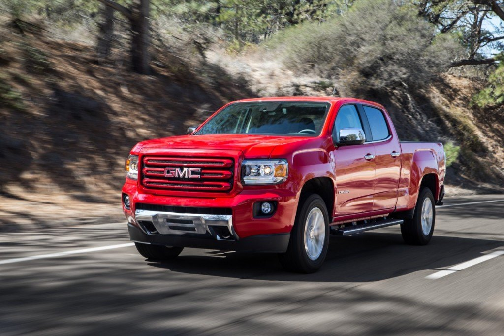 The all-new 2015 GMC Canyon starts at just $20,600 (plus $1,165 freight & destination)