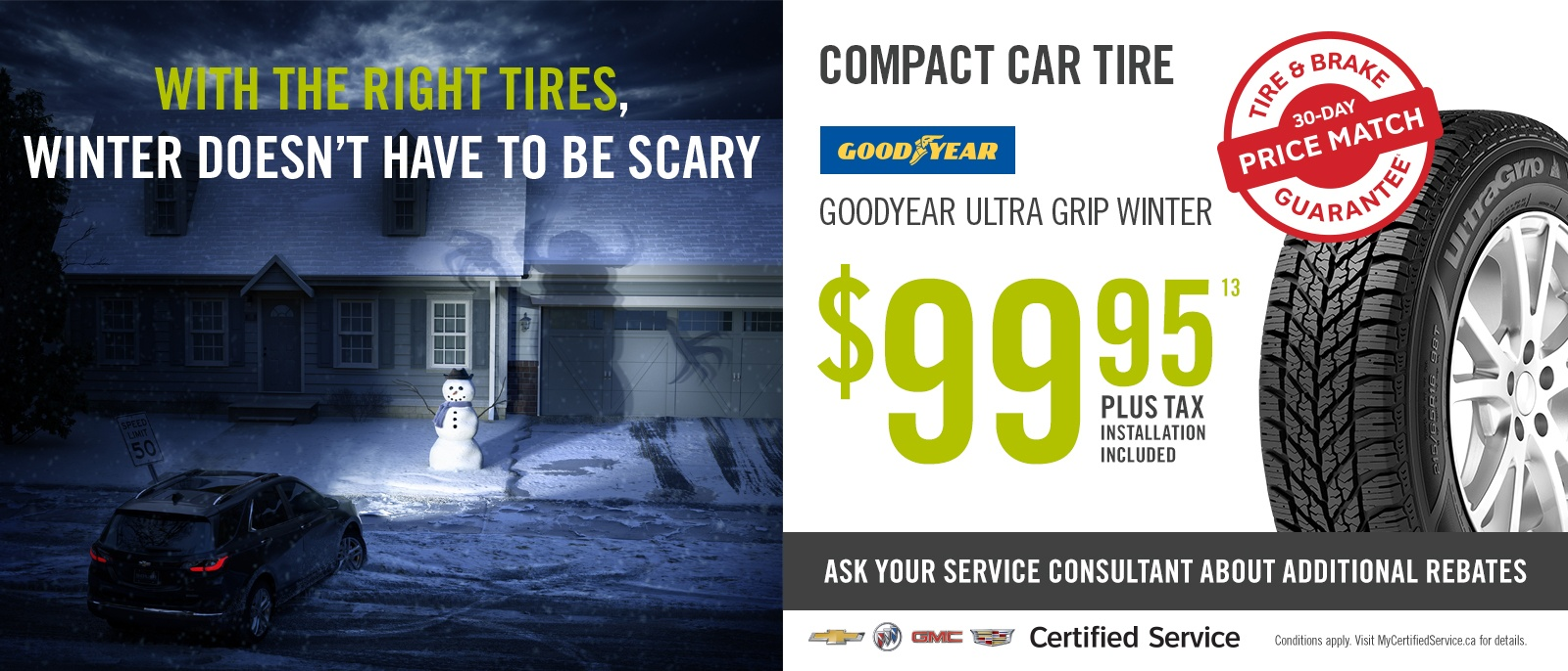 Winter Tire Specials Cars