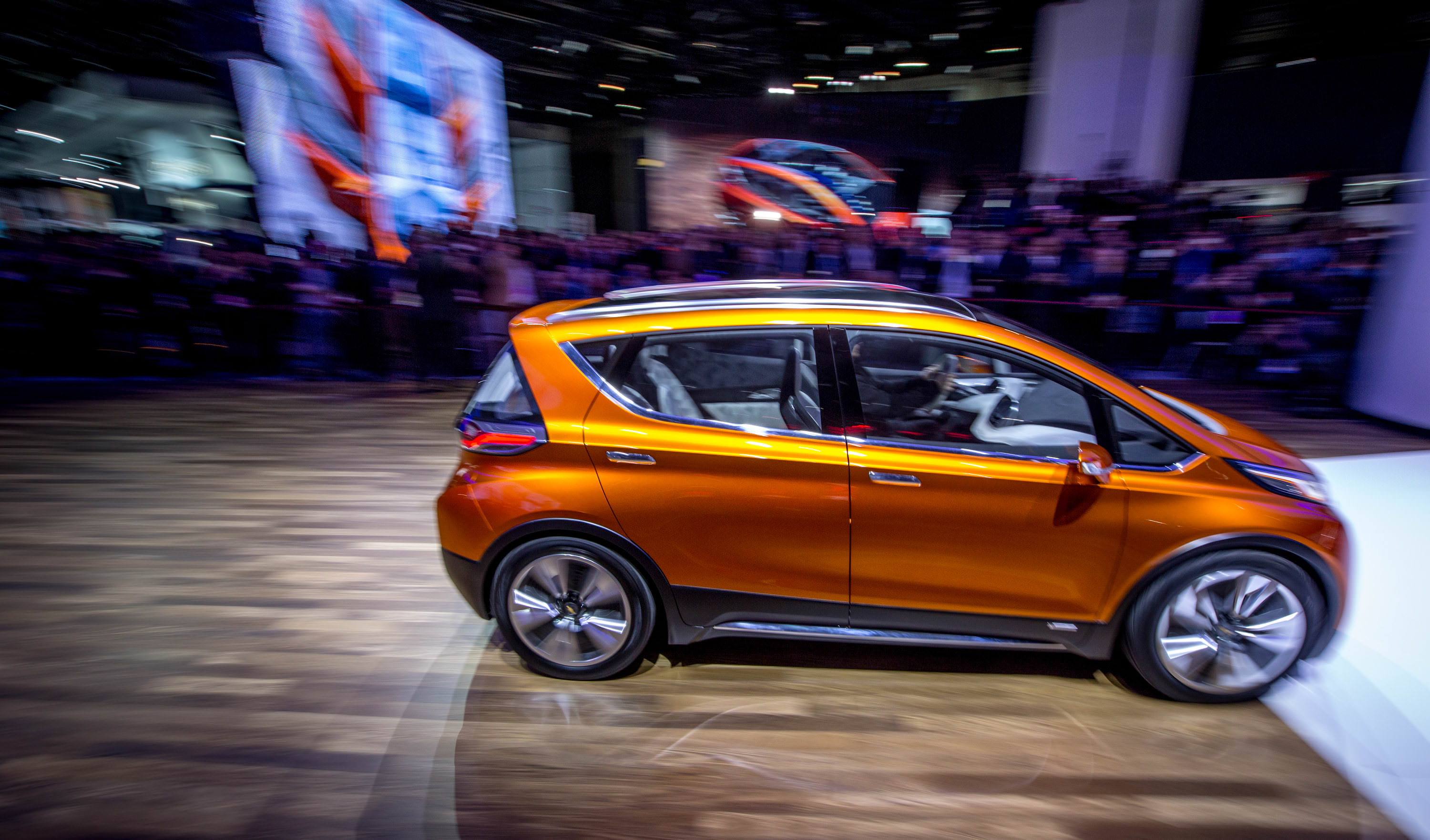 Chevrolet Unveils Bolt EV and Next -Generation Volt