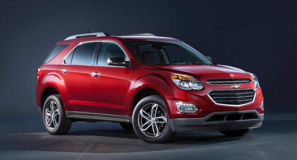 The 2016 Chevrolet Equinox sports a retooled front end.