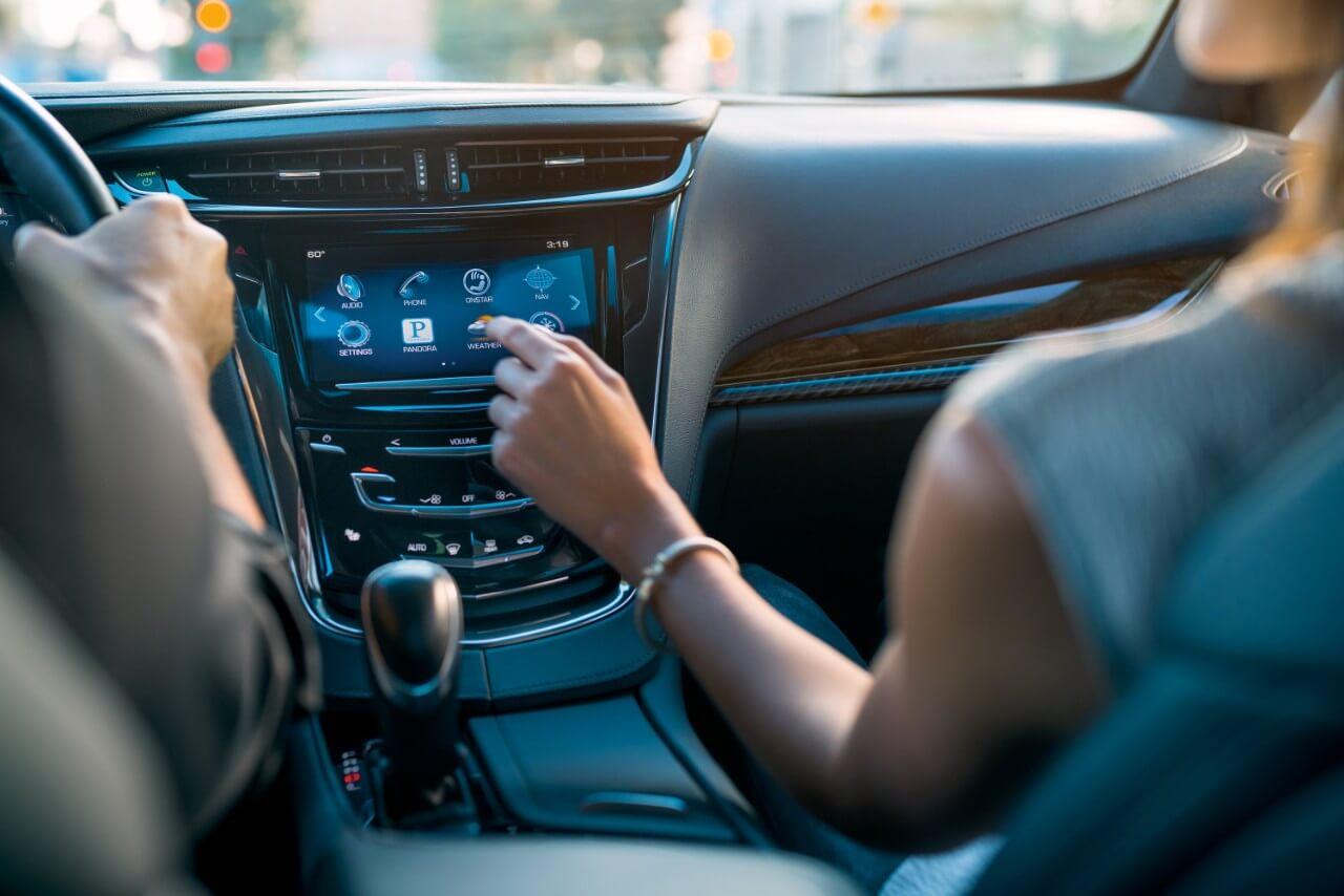 Inside the 2016 Cadillac ELR