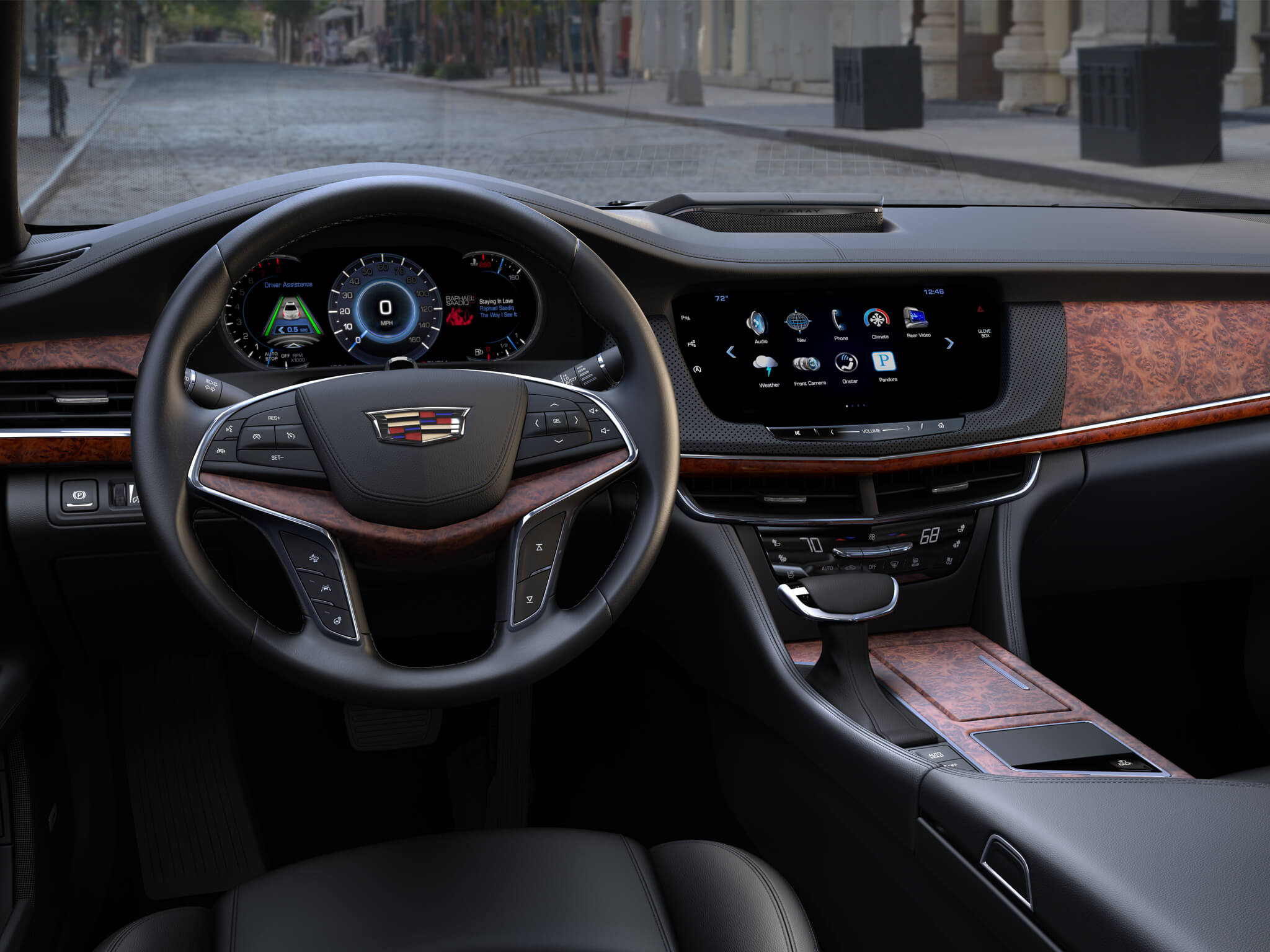 2016 Cadillac CT6 Canada Launch Date