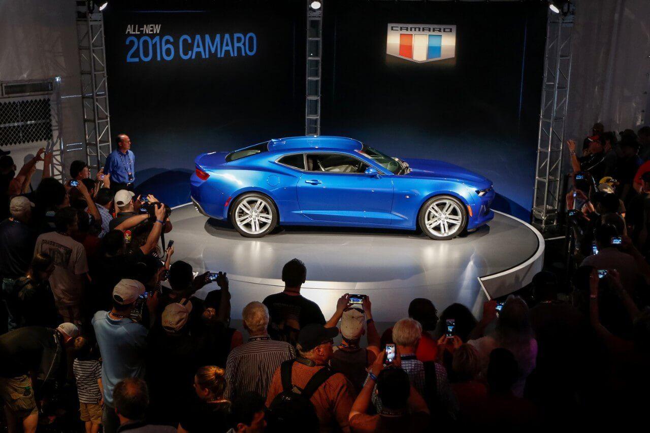 2016 Chevrolet Camaro Side