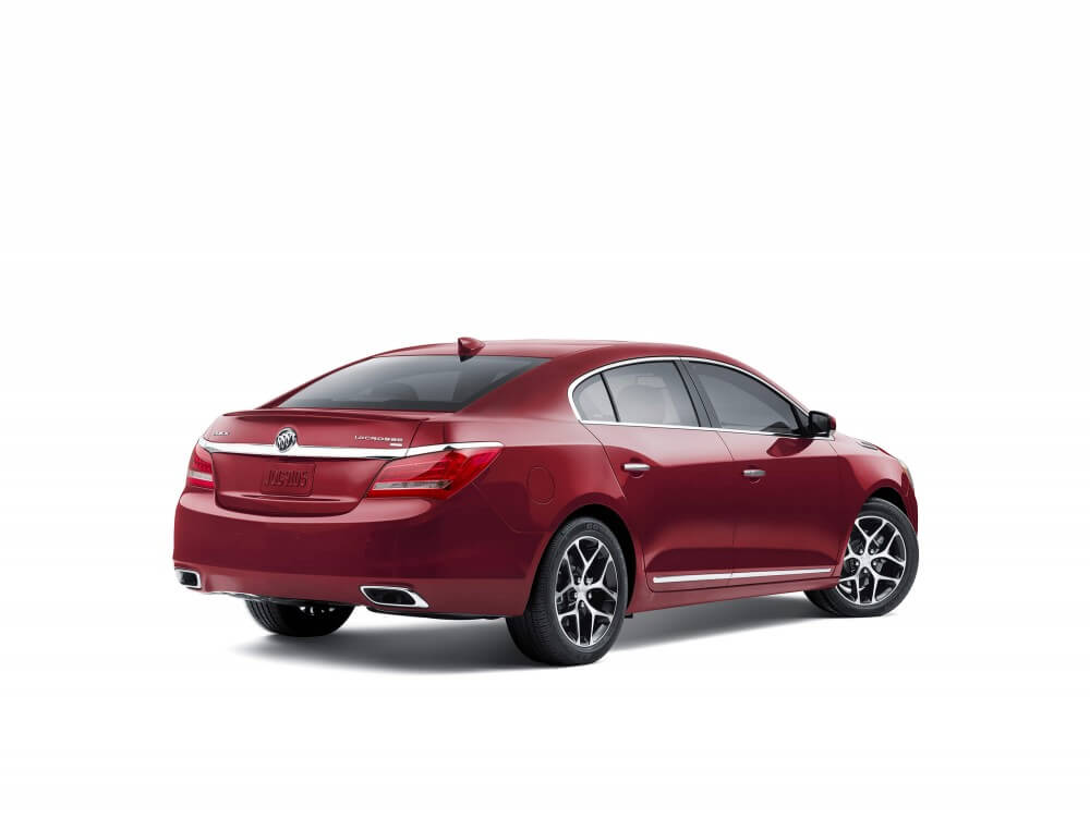 The back of the 2016 Buick LaCrosse Sport Touring