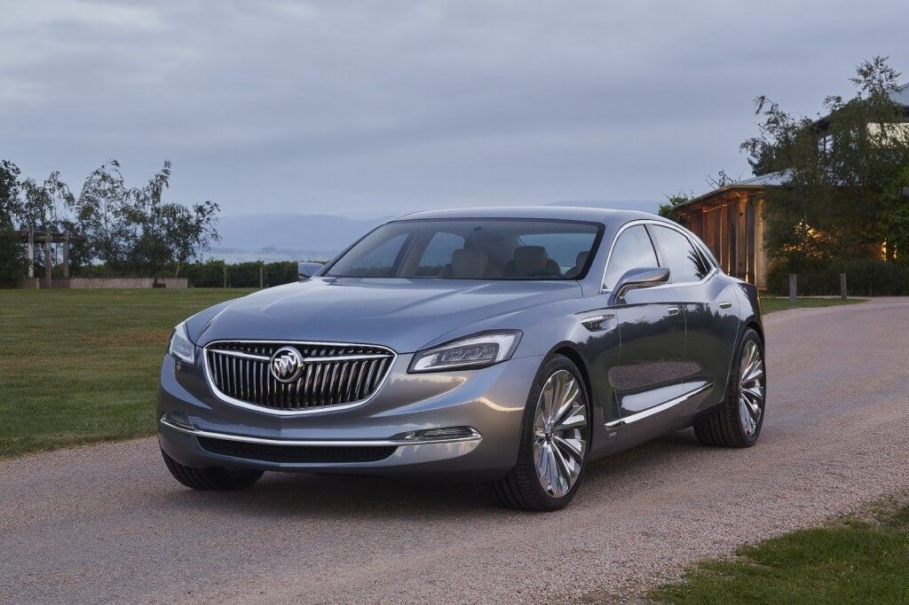 The Buick Avenir Concept was first shown at the 2015 North-American International Auto Show in January.