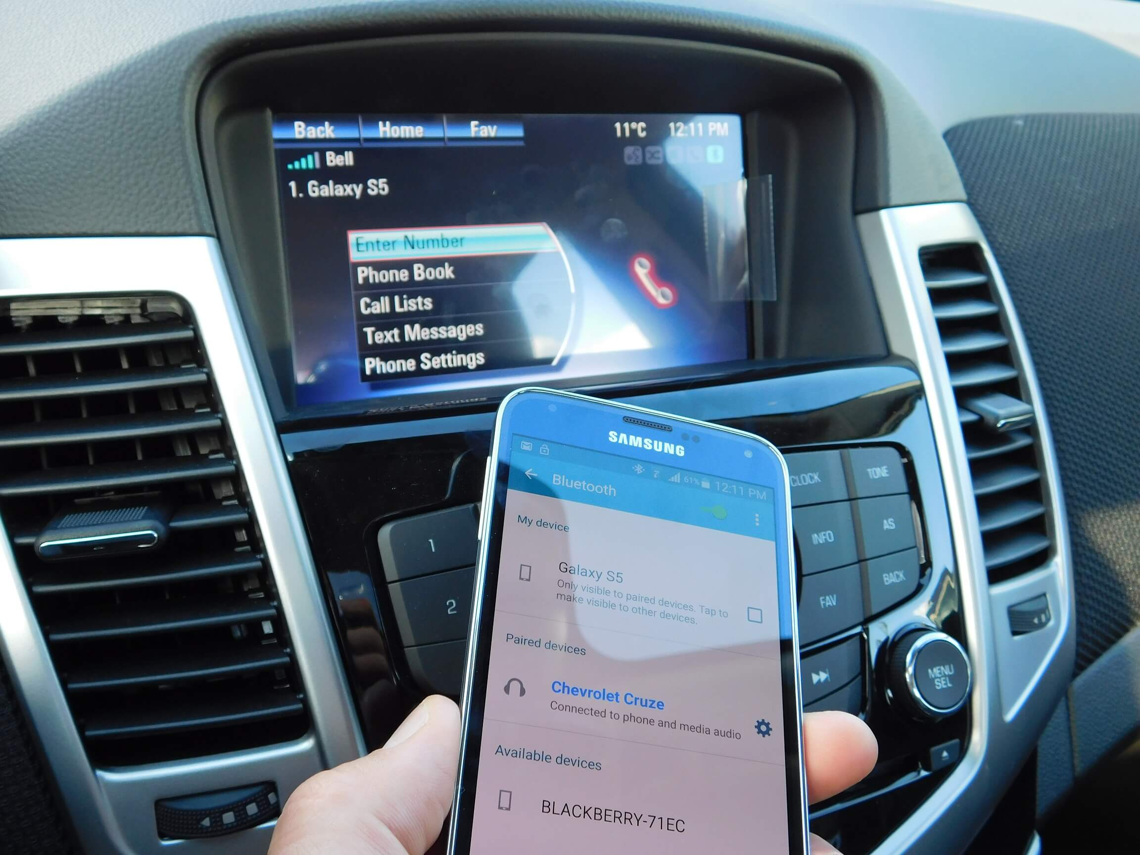 Chevrolet Cruze Infotainment System: Infotainment
