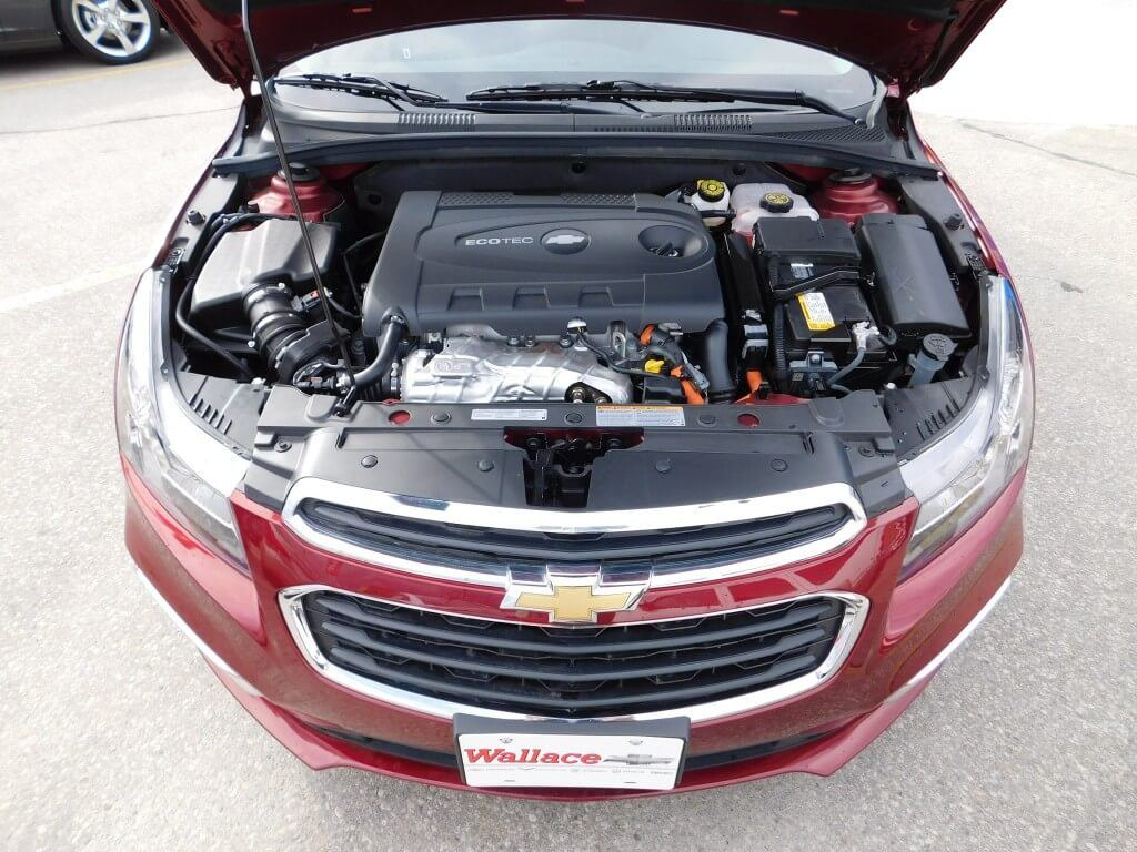 Chevrolet Cruze 2.0L turbo diesel engine.