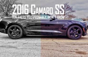 2016 Camaro SS ontario
