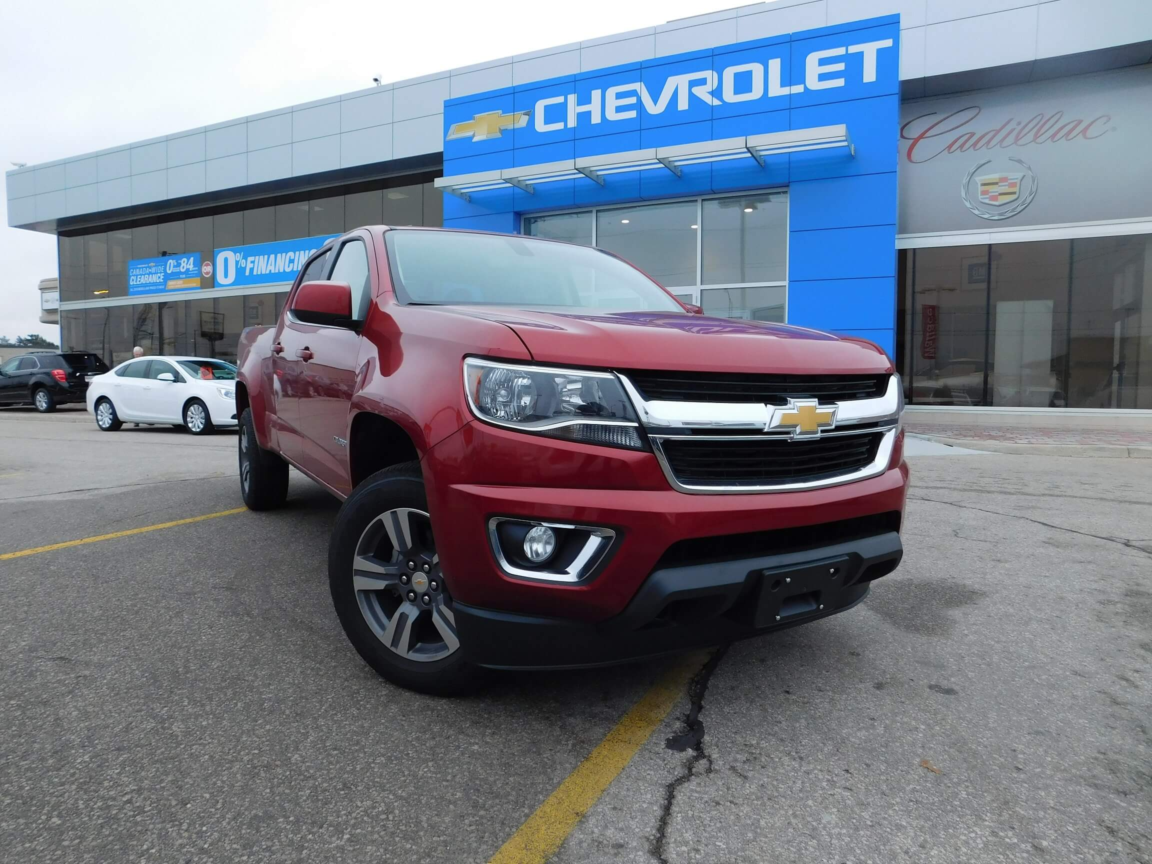 2016 Chevrolet Colorado Ontario
