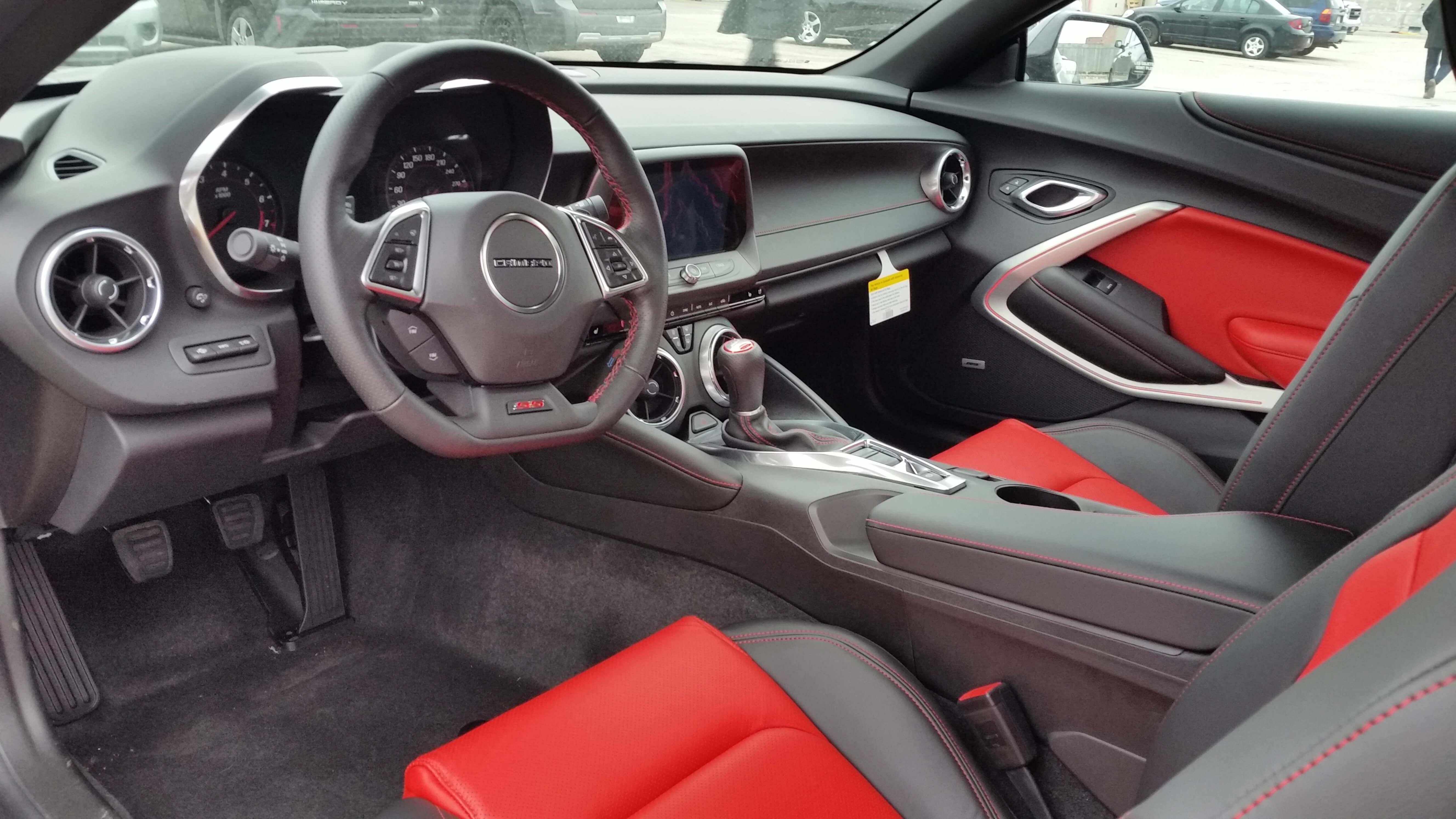 2016 camaro interior