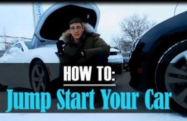 jump start a car