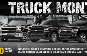 Truck Specials March 2016