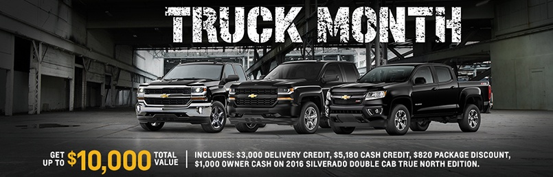 Truck Month Is Back!! - Wallace Chevrolet