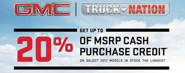 GMC Specials July 2017