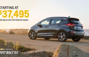 Chevy Bolt Price Canada