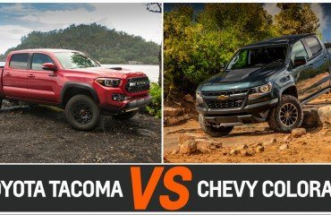 TOYOTA TACOMA VS CHEVY COLORADO
