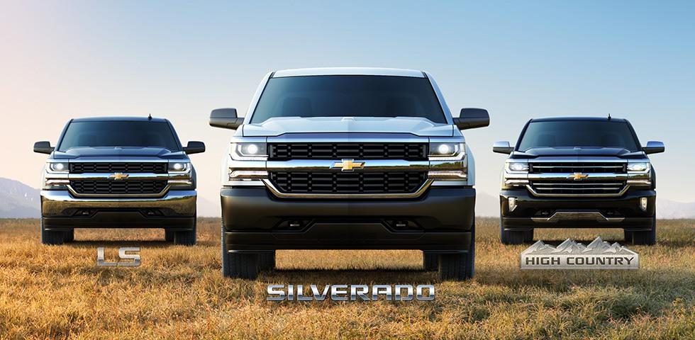 2018 silverado trim levels