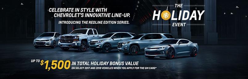 Chevrolet Specials December 2017