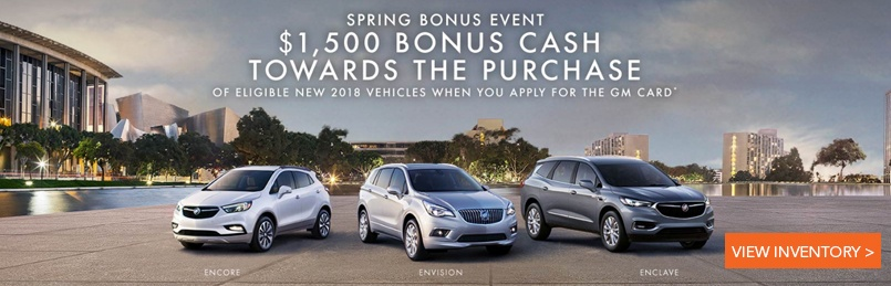 Buick Specials March 2018