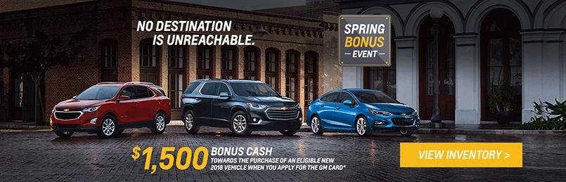Chevrolet Specials March 2018