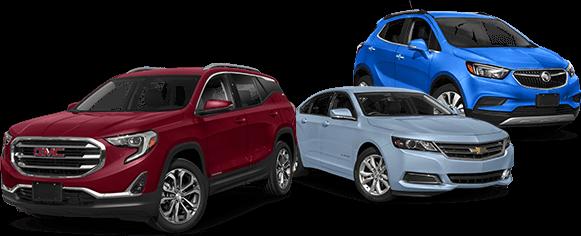 Assorted GMC Vehicles