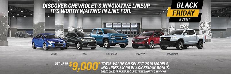 Chevrolet Specials November 2018
