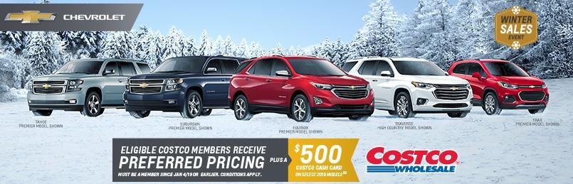 Chevrolet Costco Deal