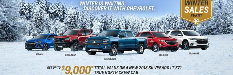 Chevrolet Specials January 2019