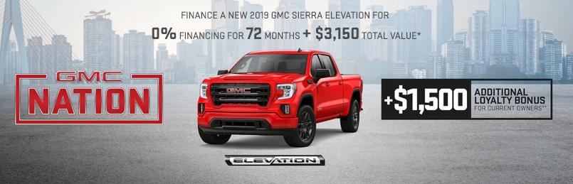 GMC Specials May 2019