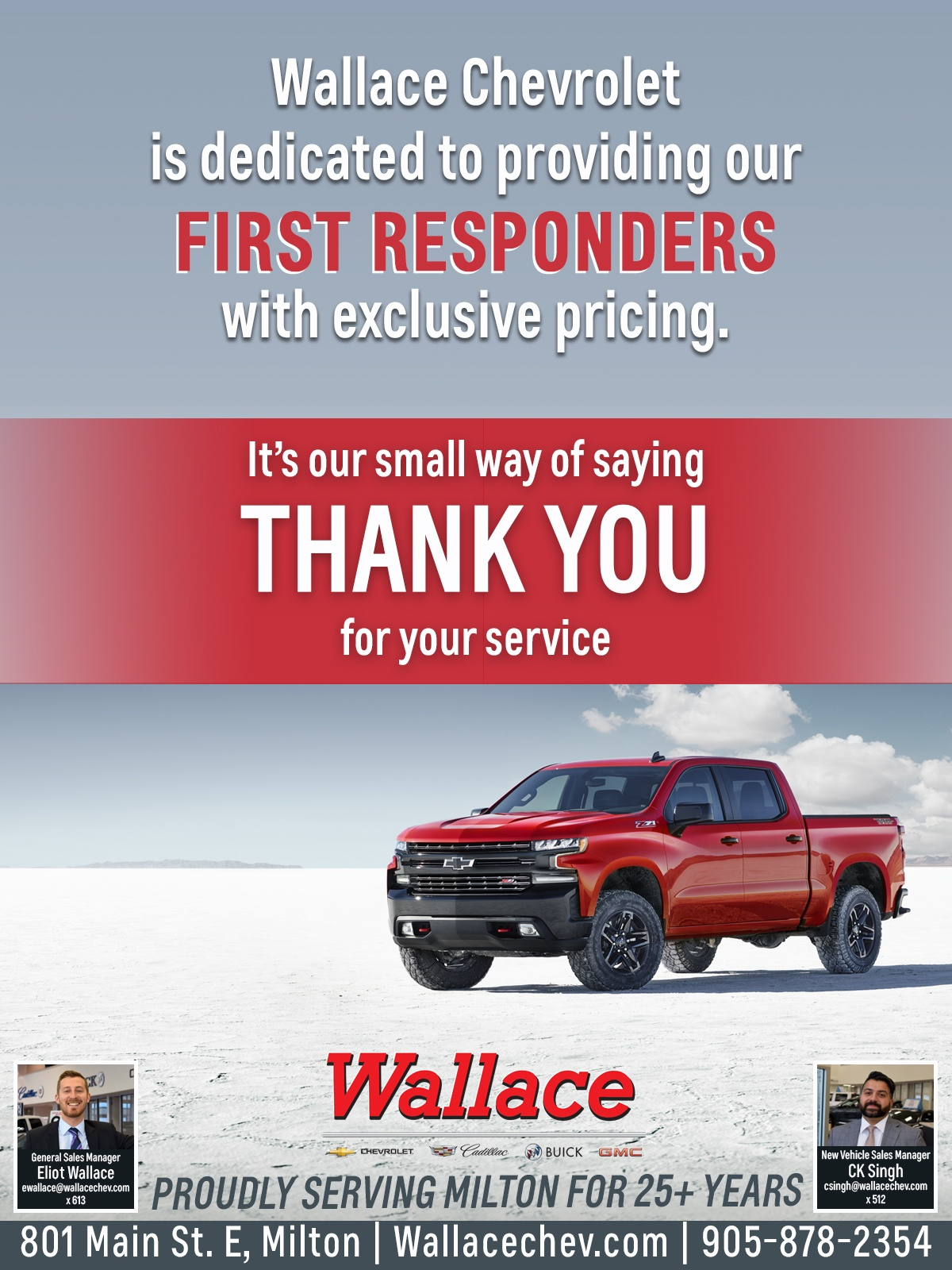 Wallace Chevrolet - EMS Program